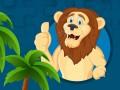 Mängud Strong Lions Jigsaw